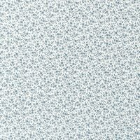 Fablon Small Floral Blue White Stationary Crafts Self Adhesive Film Vinyl