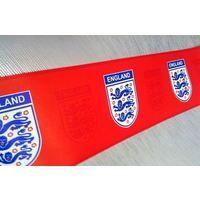 Official Licensed England Red Emblem Football Wallpaper Border