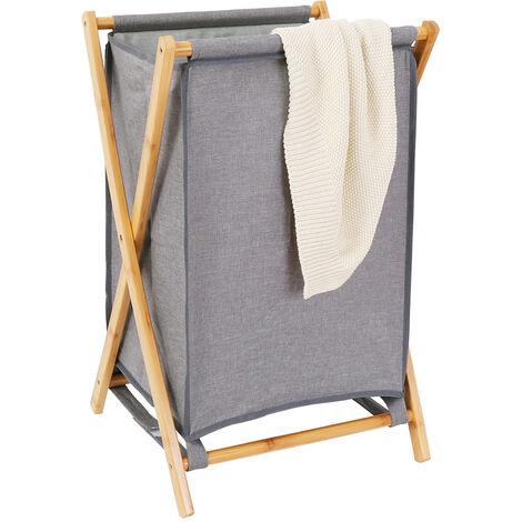 Large Laundry Basket 71L Collapsible Washing Basket Storage Folding Cloth Hamper