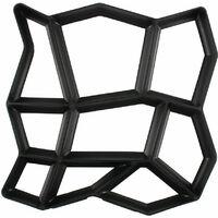 Crazy Patio Driveway Concrete Paving Garden Path Slab Brick Floor Tile Mould