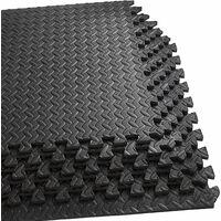12x Interlocking Soft Foam Floor Mats Heavy Duty EVA Puzzle Rubber Fadeless Home