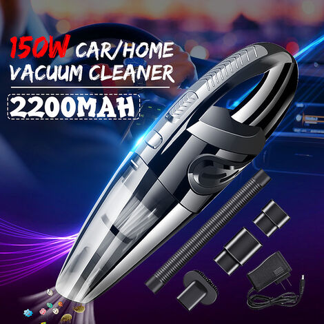 7000PA 150W aspirateur de voiture portable haute puissance aspirateur à double usage humide sec outil de nettoyage automatique de véhicule d'aspiration de poussière de poche