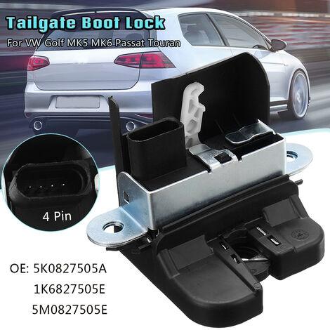 5K0827505A 1K6827505E 5M0827505E serrure de coffre de hayon pour VW Golf MK5 MK6 Passat Touran serrure de coffre arrière loquet de verrouillage de couvercle