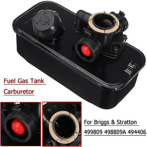 Réservoir de carburant de carburateur de tondeuse pour Briggs et Stratton 494406 498809 498809A 9B900