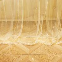 2.2X1.8M Moustiquaire Ciel de Lit en Polyester Anti Insectes