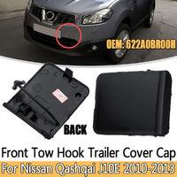 Rabat de couvercle de crochet de trou d'oeil de remorquage de pare-chocs avant pour Nissan Qashqai J10E 2010-2013 # 622A0BR00H