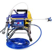 2500W 220V Pulvérisateur de peinture électrique sans air pression Machine à peinture Pistolet de pulvérisation mural 15-20Mpa