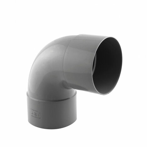 ¿100 mm de diámetro? Codo de drenaje de PVC, 87°30' F-F