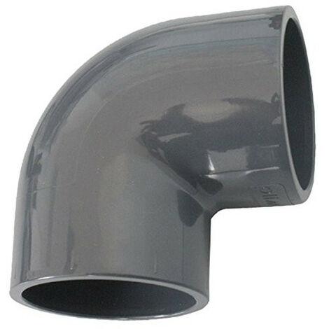 Codo ø 32 MM PVC presión para ser pegado.