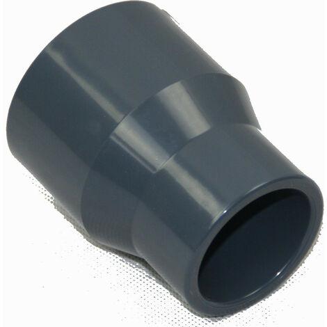 Reducción cónica de PVC 50 / 40 / 32 mm