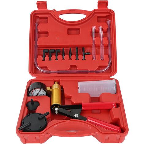 Adatta per Freni di Auto e Moto TopHGC Kit spurgo Freni Pompa a Vuoto Manuale