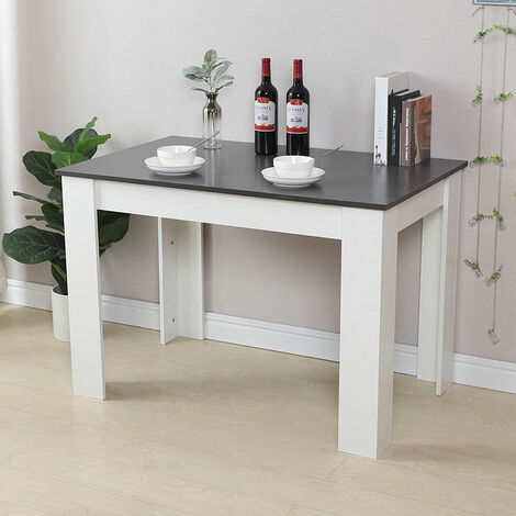 Mesa de Comedor, Mesa de Cocina, Madera,110 x 70 x 73,4 cm - Para Comedor, Sala de Estar