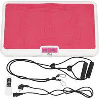 Plataformas vibratorias Entrenamiento vibratorio en blanco y negro 65 * 39.5 * 13cm Rosa-blanco