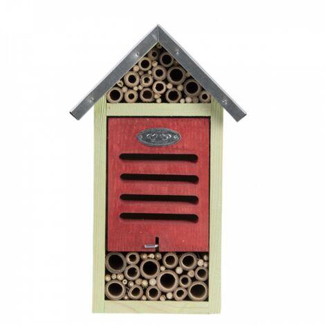 Albergo per insetti, taglia M, H 29 cm. api, coccinelle.