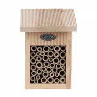 Casa delle api, compresa la spazzola per la pulizia.