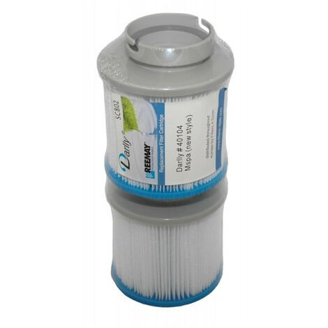 SC802 Spa-Darlly-Filter (2 Filter) - Pool- oder Spa-Filter