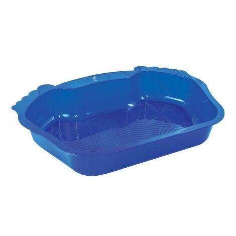 Blaues Kunststoff-Fußbad für Pool oder Spa