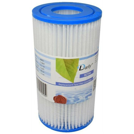 SC734 Whirlpool-Filter dunkel - Intex A