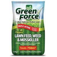 GreenForce Lawn Feed Weed & Mosskiller 750m2 (15kg Bag) (G21022)