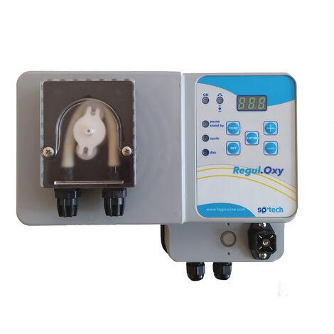 Pompe doseuse oxygène actif pour piscine, Gamme So'Tech de ByPiscine