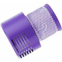 2 filtres de remplacement pour aspirateur avec brosses, complètement propres avec Dyson Cyclone V10 Absolute Animal Motorhead, numéro de pièce de rechange 969082-01