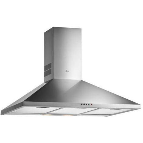 Campana Cocina Filtros Aluminio 70Cm Inox 3 Velocidades Teka