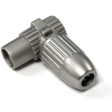 Conector Antena Hembra Acodado Coaxial Engel Axil Metal Mp 0623 E