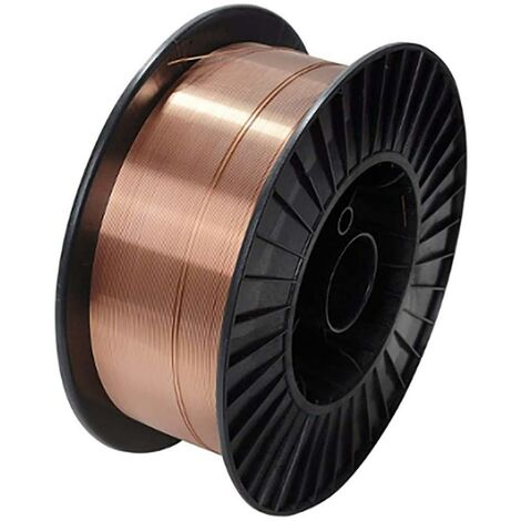 Hilo soldar bobina plastico 1,0x15kg 15 kg acero al carbono nivel nv109262