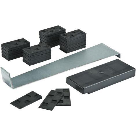 Le kit d'installation Baseline pro est un ensemble de pièces destiné à faciliter la pose de votre sol stratifié ou de votre parquet. Ce kit se compose d'un fer à choc, d'un bloc de frappe et de cales d'expansion en plastique.La barre de frappe permet d'in
