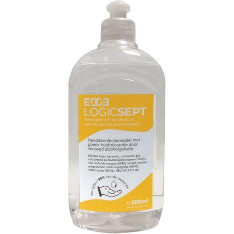 Gel désinfectant main Edge Logicsept flacon doseur - 500ml