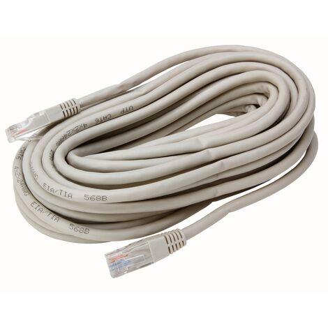 Câble réseau Kopp CAT6 UTP 10m