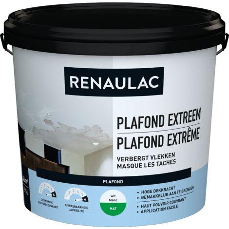 Renaulac Peinture plafond Plafond Extrême Blanc 5L
