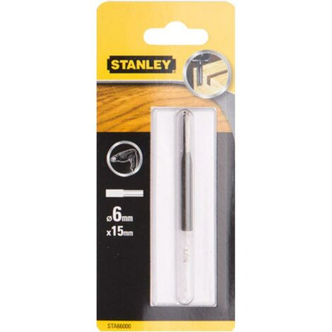 Fraise dRoite Stanley - 6 mm