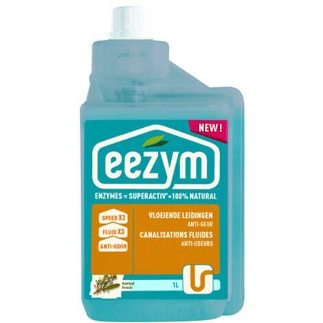 Déboucheur canalisations anti-odeurs Eezym - 1L