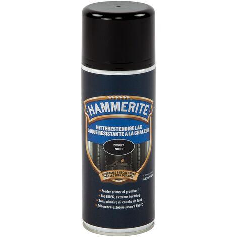 Laque anti-chaleur Hammerite Noir - 400ml