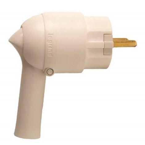 Legrand - Fiche à extraction facile 2P T Blanc