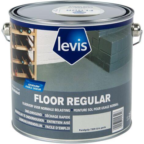 Peinture sol Levis - 'Floor Regular' Gris perle - 2,5L