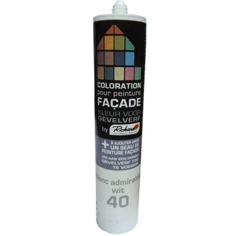 Colorant pour Peinture façades Richard Blanc 450 gr
