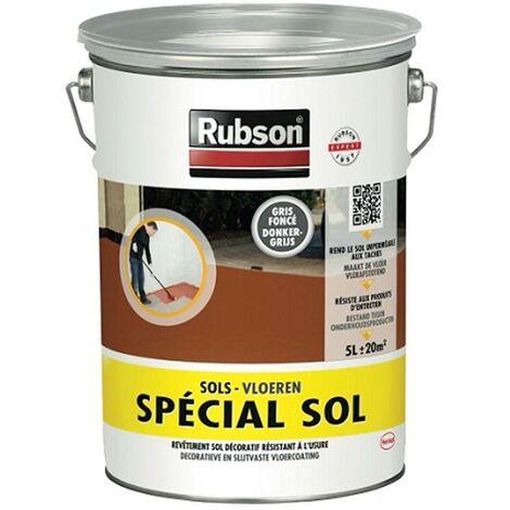 Peinture spécial sol Rubson Gris foncé 5L