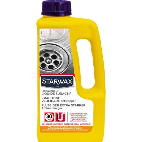 Déboucheur liquide canalisations Starwax - 1L