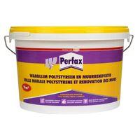 Colle murale polystyrene et renovation des murs Perfax 4,5 kg