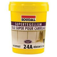 Colle carrelage Soudal 'Super 24A' 15 kg