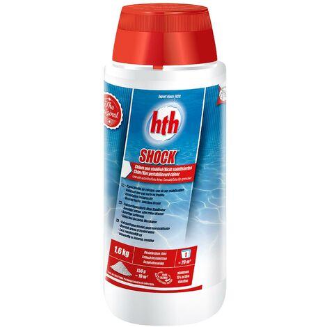 Désinfectant à dissolution rapide chlore choc non stabilisé HTH pour piscine