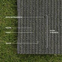 Gazon synthétique 25mm - Albatros - pelouse artificielle pour balcon. terrasse. véranda. patio. piscine 1x5 m