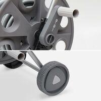 Dévidoir sur roues 20m. enrouleur avec tuyau d'arrosage. raccord et lance fournis