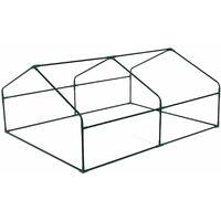 Mini serre de jardin Ciboulette 2.5m². serre châssis en polyéthylène