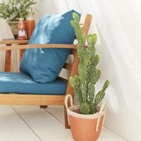 Plante artificielle. cactus. intérieur. 72cm. mousse