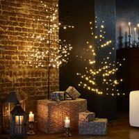 Arbre lumineux de 180 cm. 200 leds. perles et pied inclus - décoration de Noël
