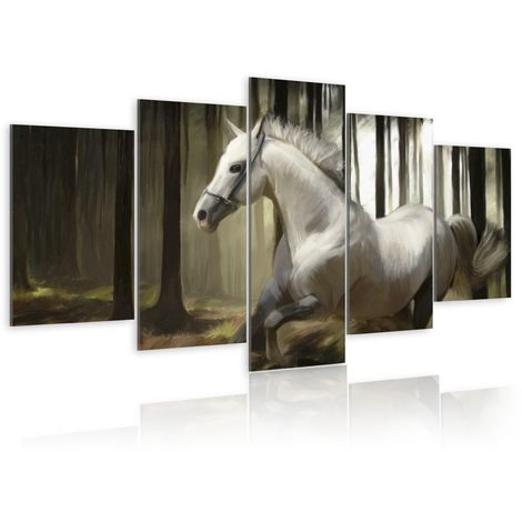 Tableau - Cheval courant 100x50