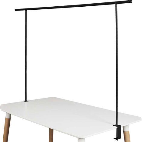 Barre ajustable pour décoration de table Noir - Noir